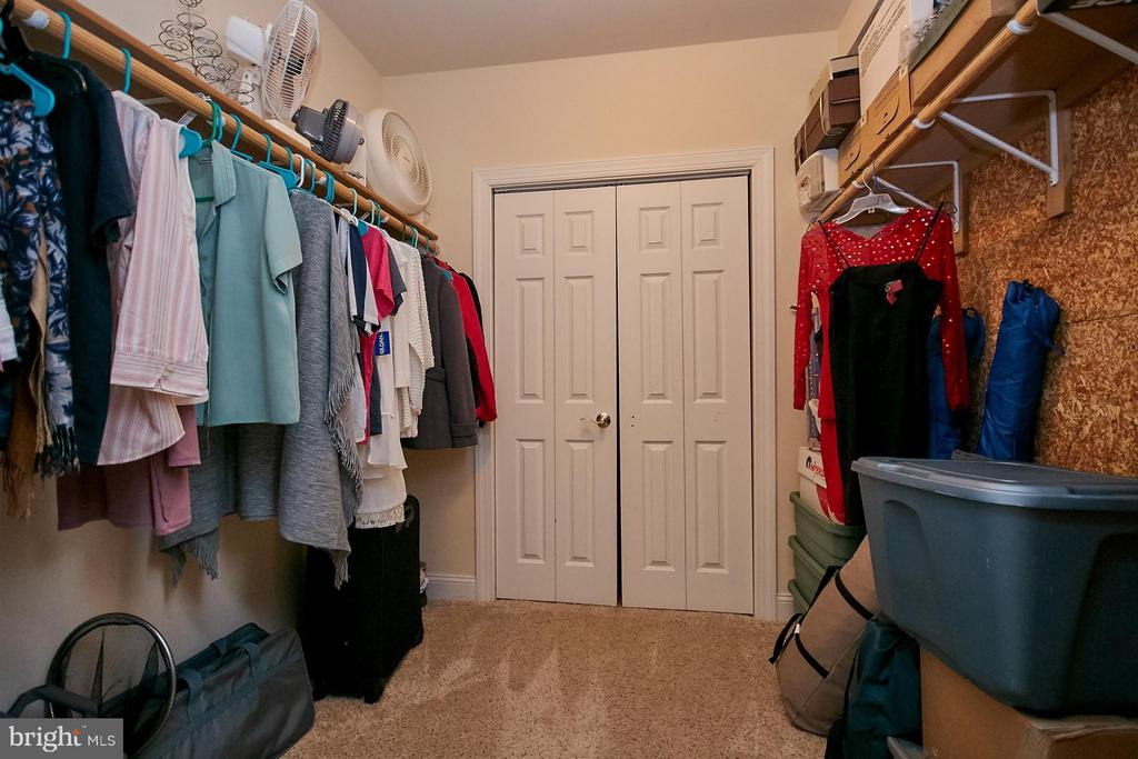 Lower Level Cedar Walk-in Closet - 9322 OLD BURKE LAKE RD, BURKE