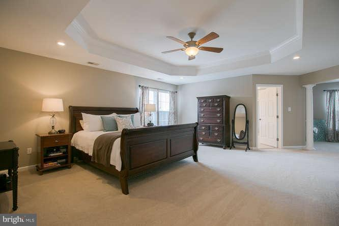 ~ Gorgeous Master Bedroom with Tray Ceiling ~ - 37 KINROSS DR, STAFFORD
