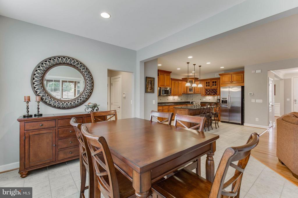 Breakfast Room - 22344 HARRIER LN, LEESBURG