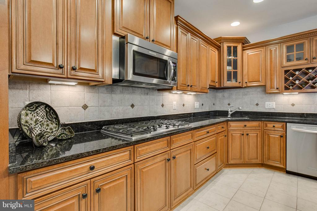 Lovely Granite and Stainless Steel Appliances - 22344 HARRIER LN, LEESBURG