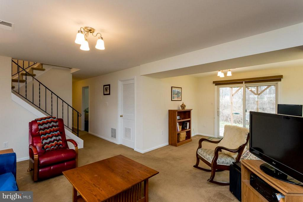 Entry to family room on lower level - 2328 MALRAUX DR, VIENNA