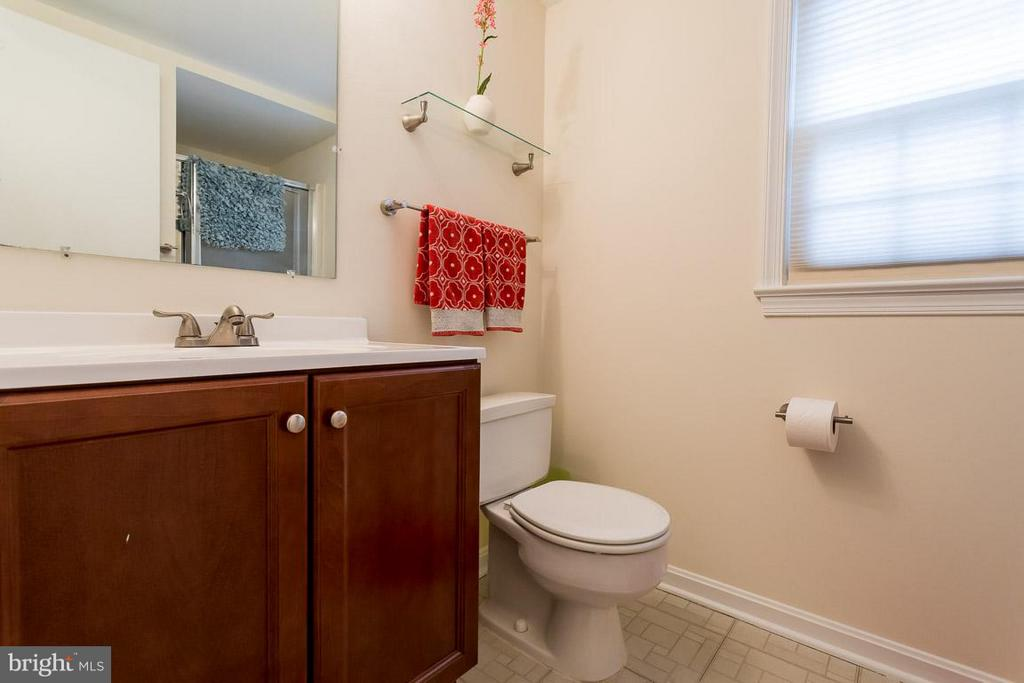 Lower level bath - 2328 MALRAUX DR, VIENNA