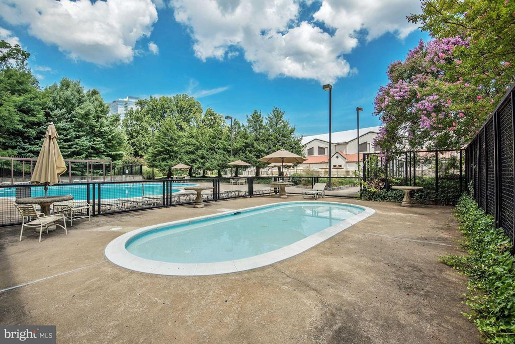 COMMUNITY BABY POOL! - 1808 OLD MEADOW RD #1403, MCLEAN