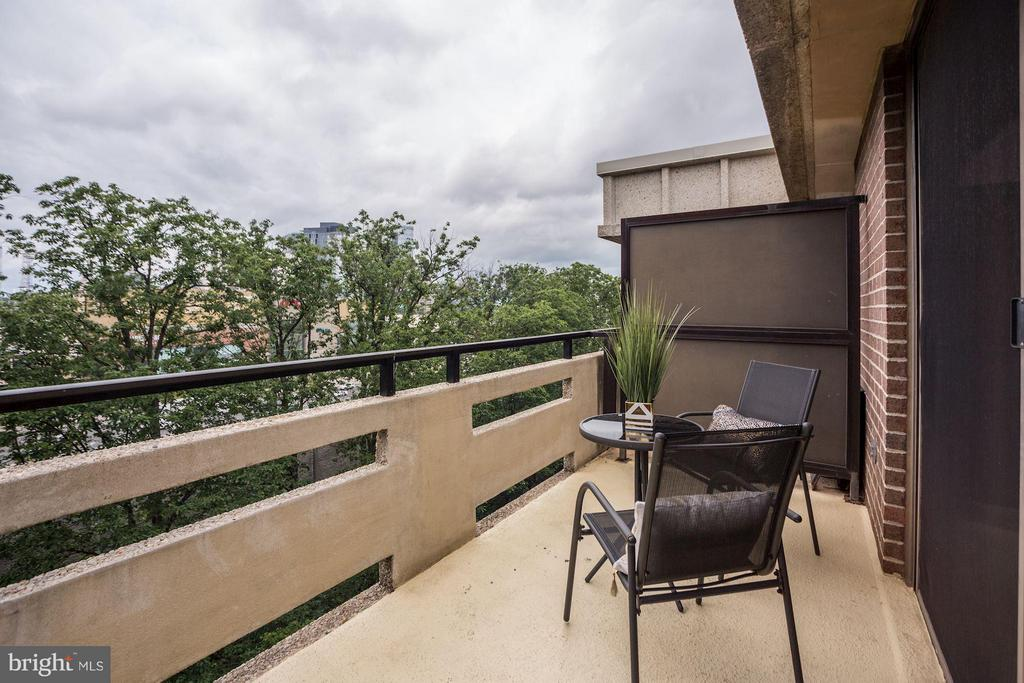 PRIVATE BALCONY WITH BEAUTIFUL VIEWS! - 1808 OLD MEADOW RD #1403, MCLEAN