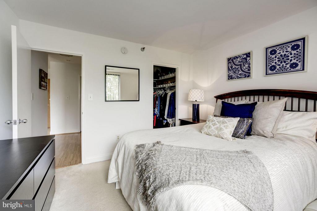MASTER BEDROOM - CARPET! - 1808 OLD MEADOW RD #1403, MCLEAN