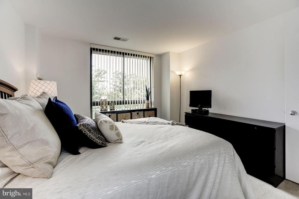 MASTER BEDROOM GETS REALLY FAVORABLE LIGHTING! - 1808 OLD MEADOW RD #1403, MCLEAN