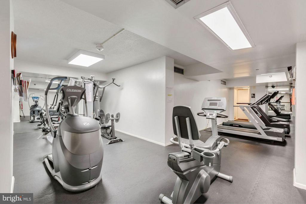 COMMUNITY FITNESS CENTER WITH CARDIO AND WEIGHTS! - 1808 OLD MEADOW RD #1403, MCLEAN