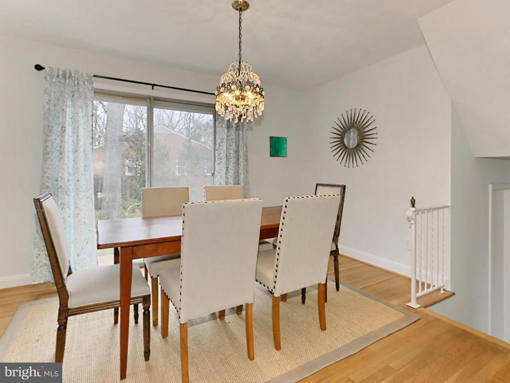 Dining Room - 5005 NINIAN CT, ALEXANDRIA