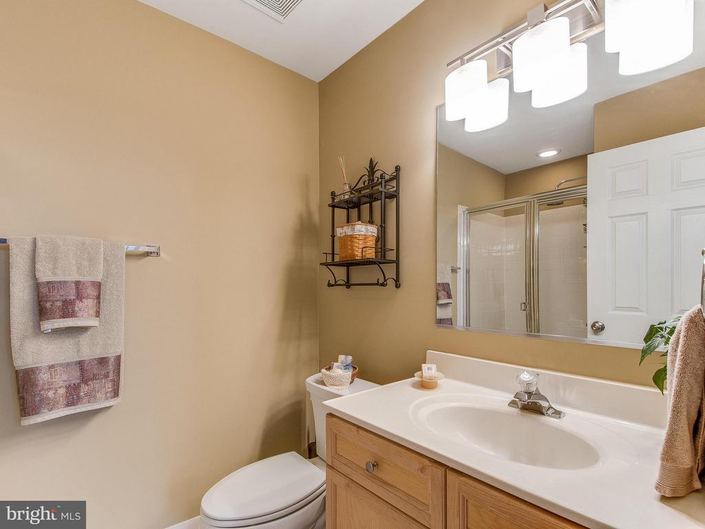 Full bath on lower level - 5637 GOVERNORS POND CIR, ALEXANDRIA