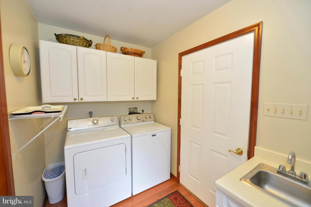 Main Level Laundry/Mud Room - 450 DEER MOUNTAIN DR, HARPERS FERRY