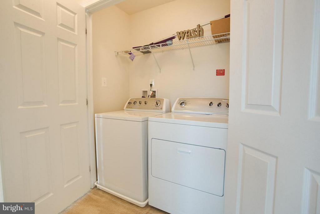 TOP FLOOR LAUNDRY CLOSET - 23141 FLORA MURE DR, ASHBURN