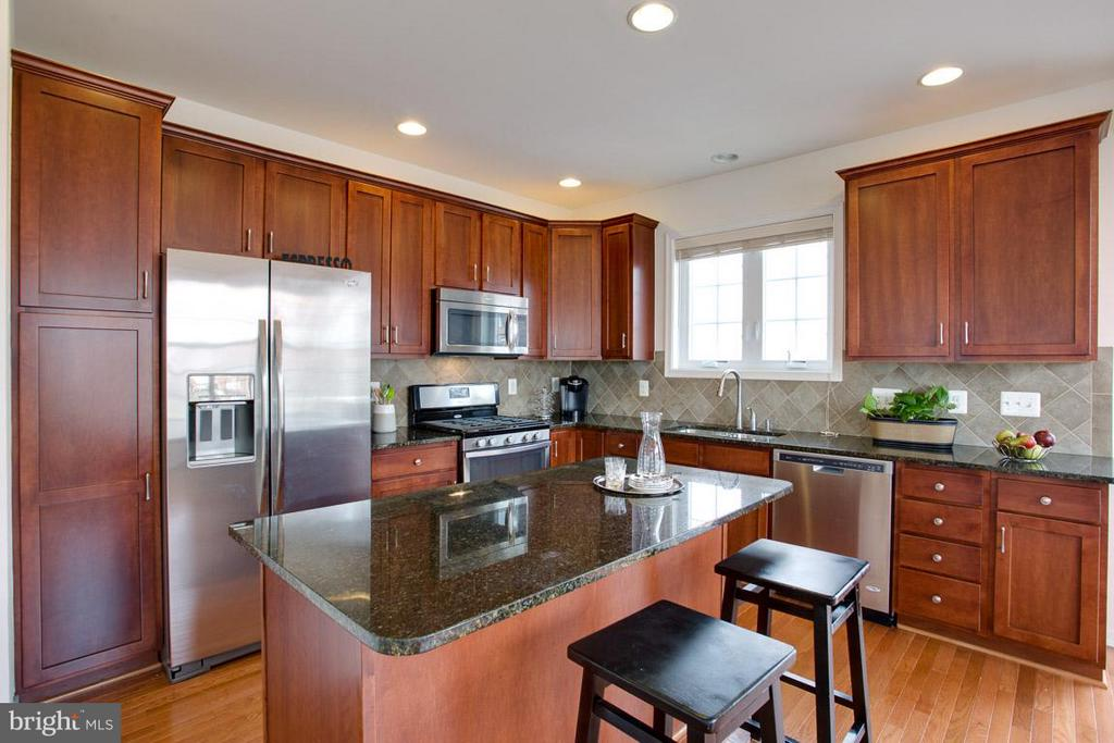 GOURMET KITCHEN + AMPLE STORAGE + GAS COOKING - 23141 FLORA MURE DR, ASHBURN