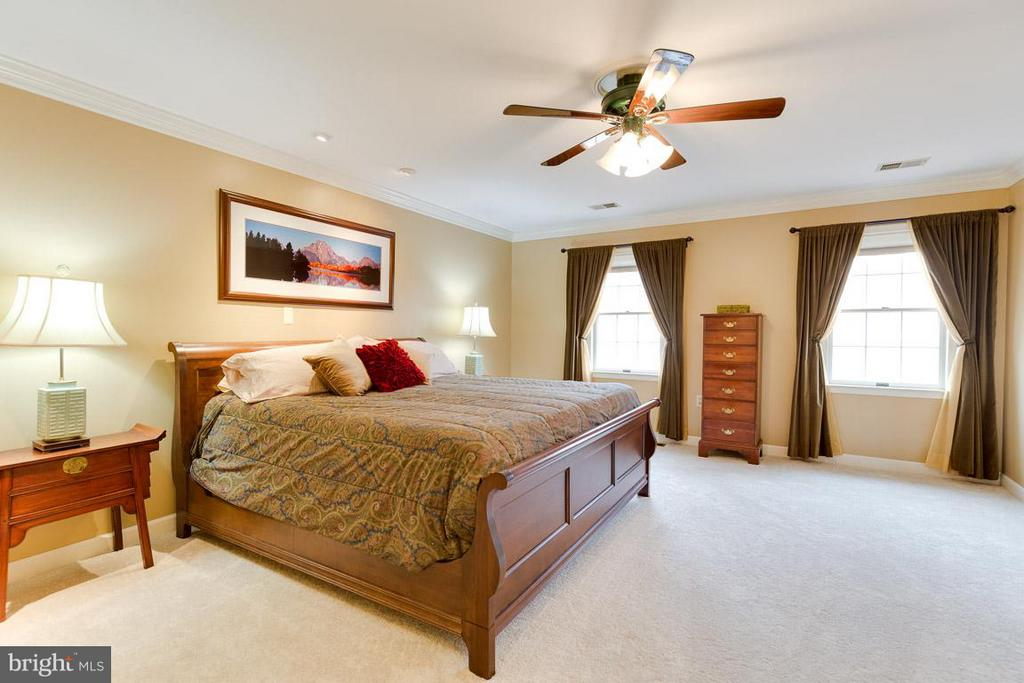 Retreat to the privacy of the master suite - 11079 OVERRUN DR, MANASSAS