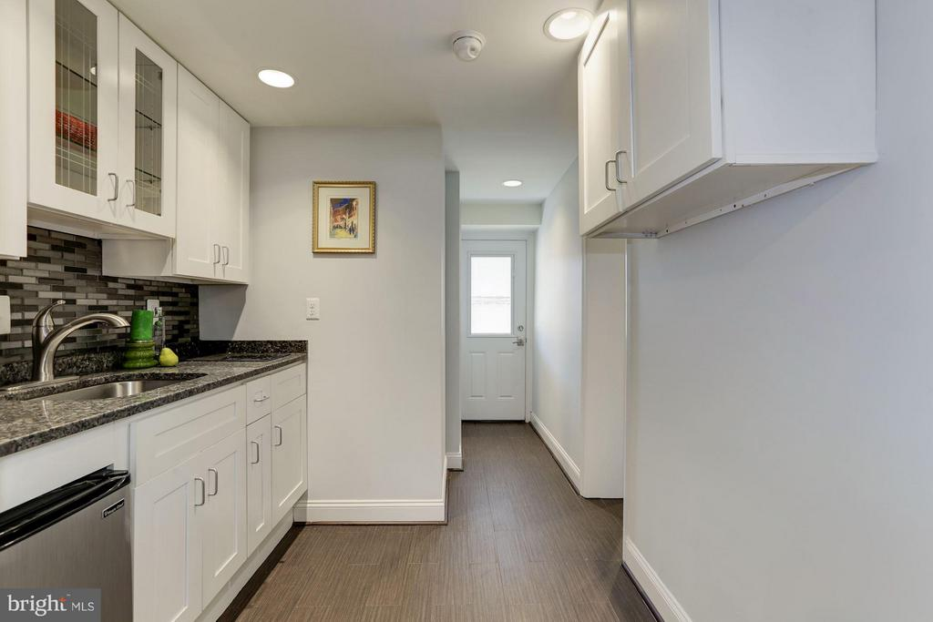Basement Kitchenette - 1729 D ST NE, WASHINGTON