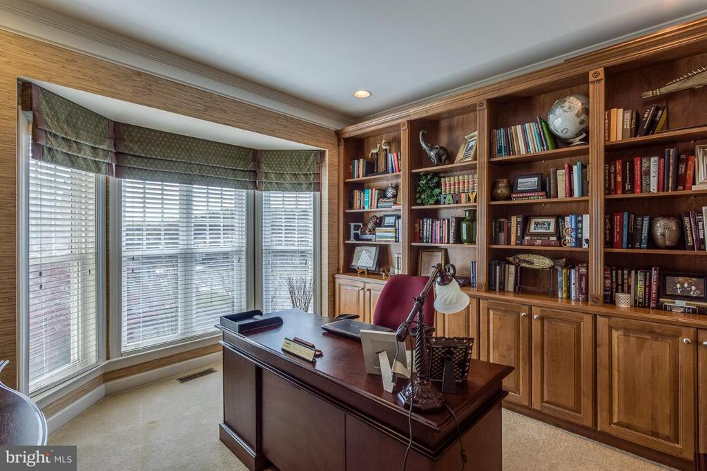 Office with Built in Bookshelves - 4116 AGENCY LOOP, TRIANGLE