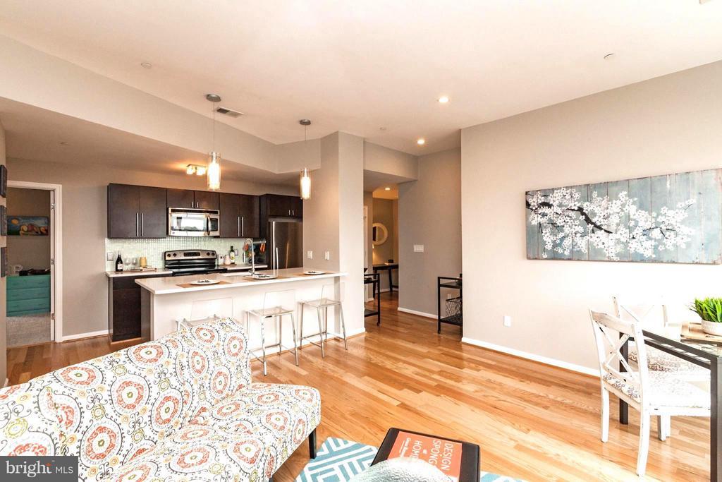 New Hardwood Flooring - 329 RHODE ISLAND AVE NE #404, WASHINGTON