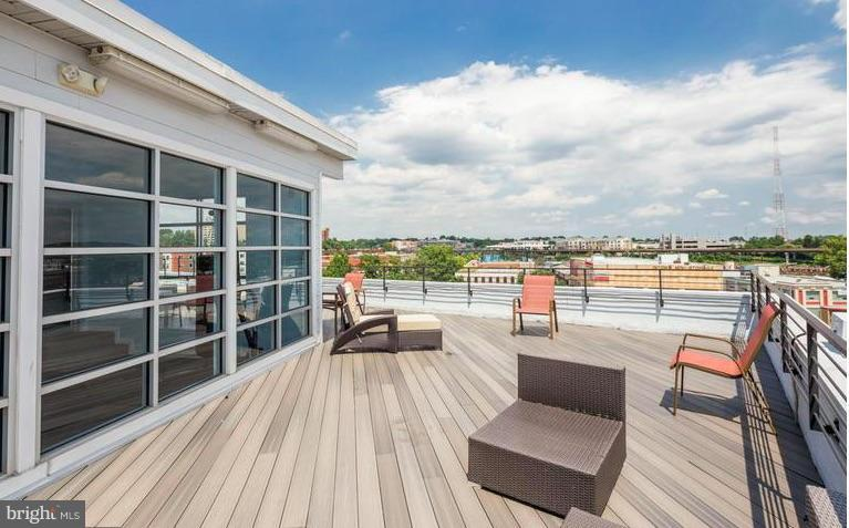 Rooftop Deck just Steps from #404 - 329 RHODE ISLAND AVE NE #404, WASHINGTON
