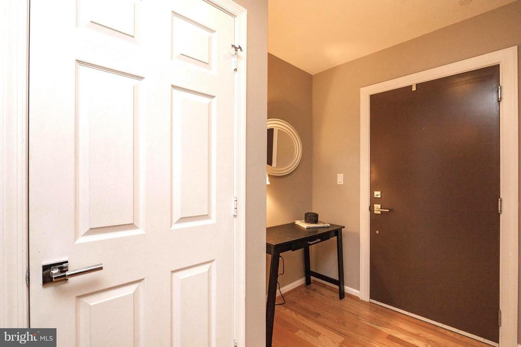 Entry with Room for a Table or Chest - 329 RHODE ISLAND AVE NE #404, WASHINGTON