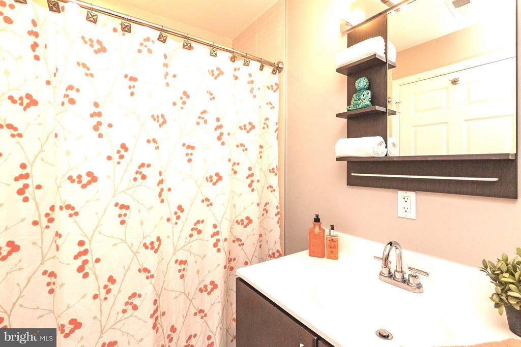 Master Bath with Tub - 329 RHODE ISLAND AVE NE #404, WASHINGTON