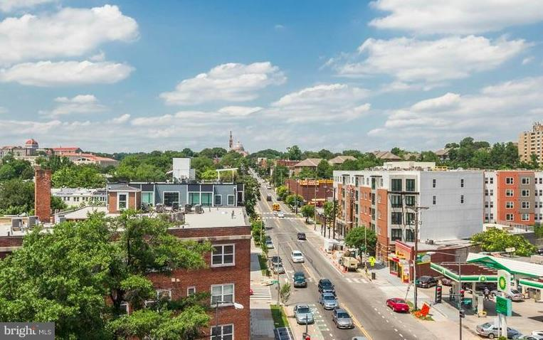 View from the Roof Top - 329 RHODE ISLAND AVE NE #404, WASHINGTON