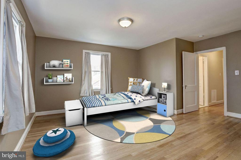 Bedroom #4 - 8907 GEORGIA AVE, SILVER SPRING