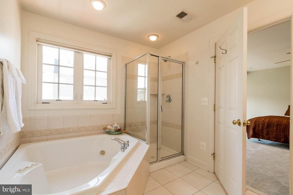Separate Soaking Tub and Shower - 9638 PARSON MASSEY PL, LORTON