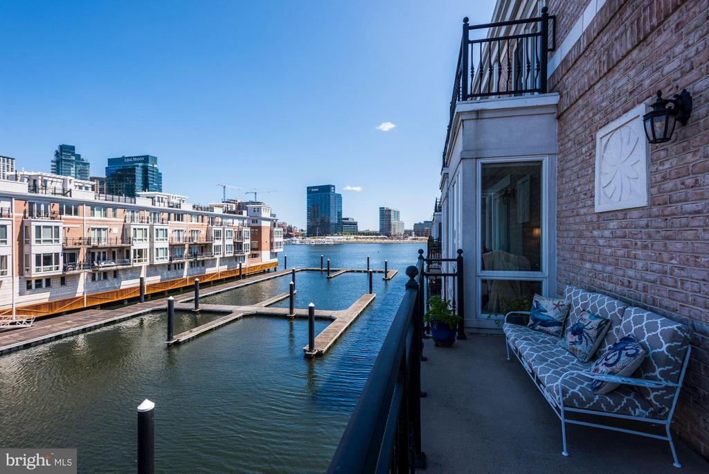 View From Master Bedroom Balcony - 632 PONTE VILLAS SOUTH #146, BALTIMORE