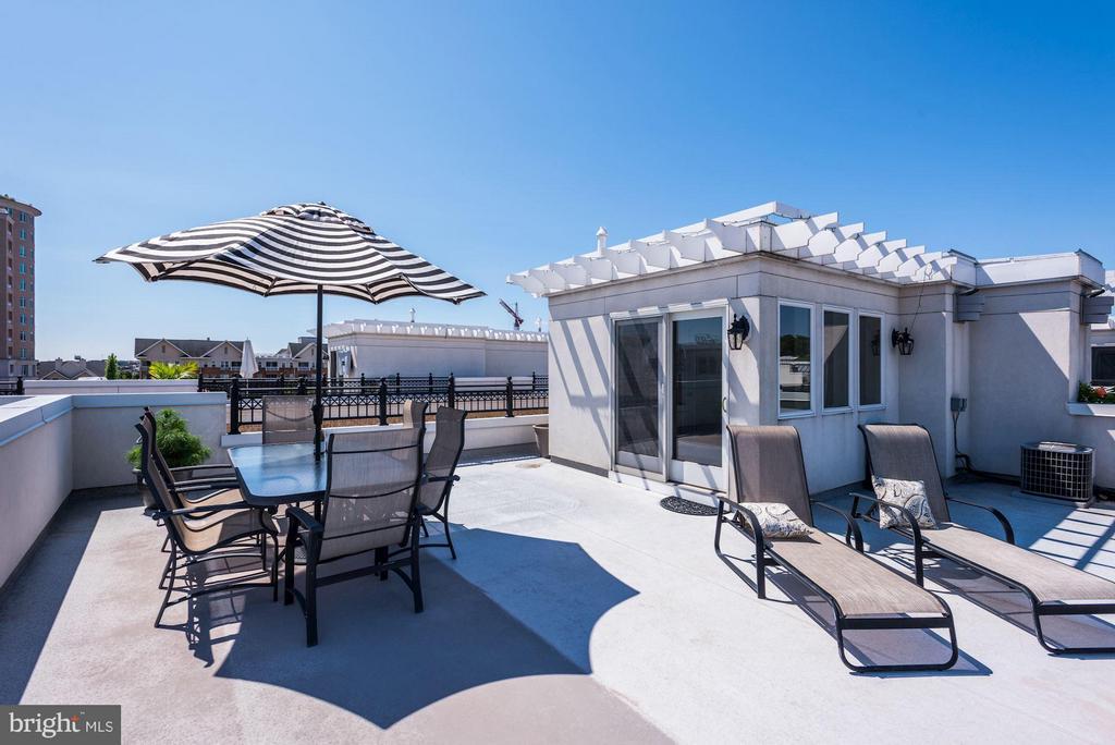 Rooftop Terrace - 632 PONTE VILLAS SOUTH #146, BALTIMORE