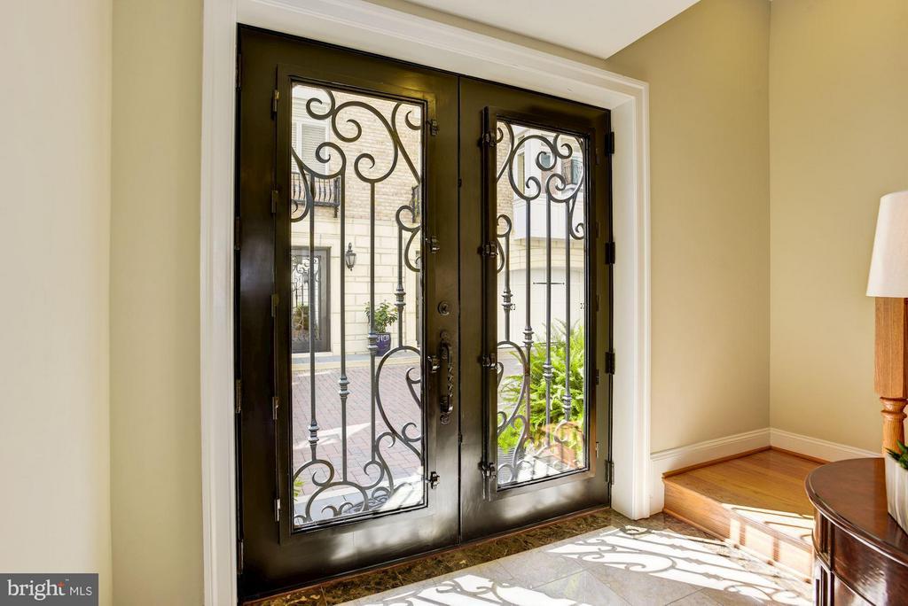 Entry Foyer With Double Cantera Door - 632 PONTE VILLAS SOUTH #146, BALTIMORE