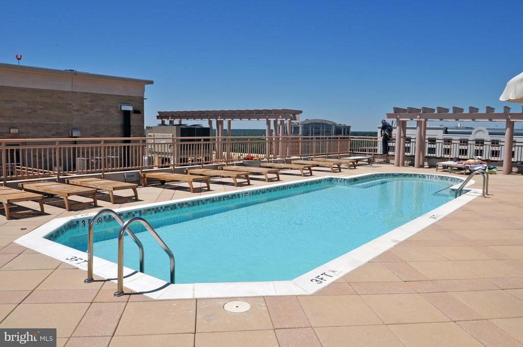 Rooftop Pool - 888 QUINCY ST #1206, ARLINGTON
