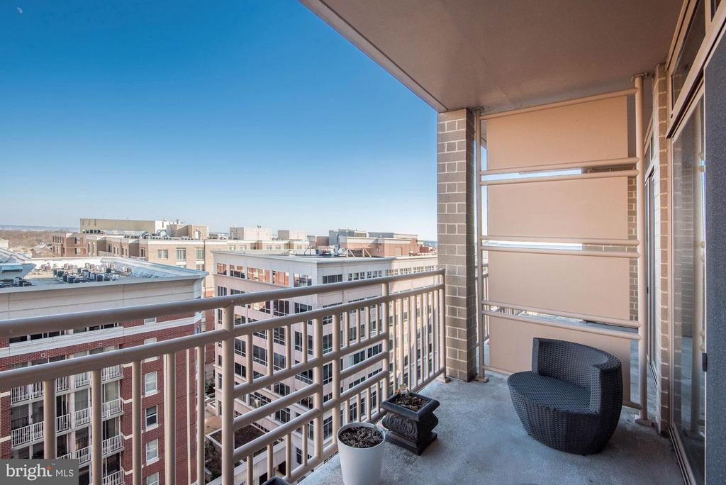 Above neighboring buildings - 888 QUINCY ST #1206, ARLINGTON