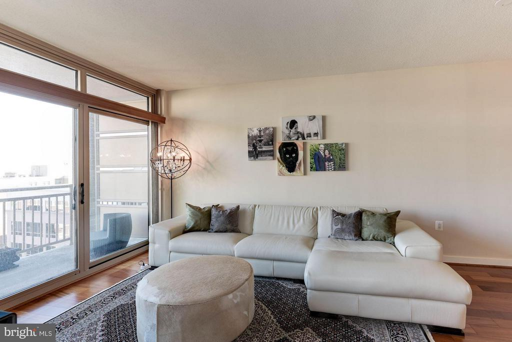 Large living space - 888 QUINCY ST #1206, ARLINGTON
