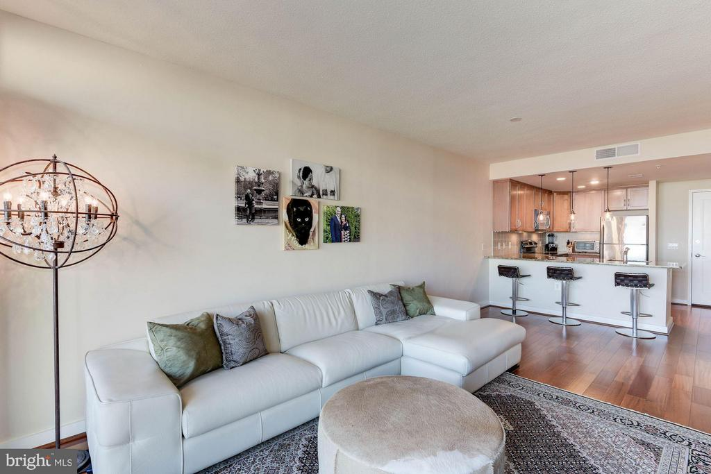 Open layout - 888 QUINCY ST #1206, ARLINGTON