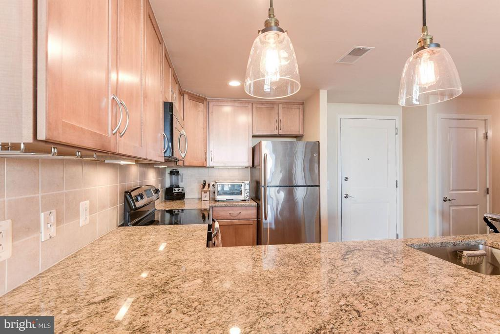 Upgraded pendant lighting - 888 QUINCY ST #1206, ARLINGTON