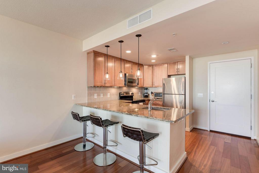 Gourmet kitchen - 888 QUINCY ST #1206, ARLINGTON