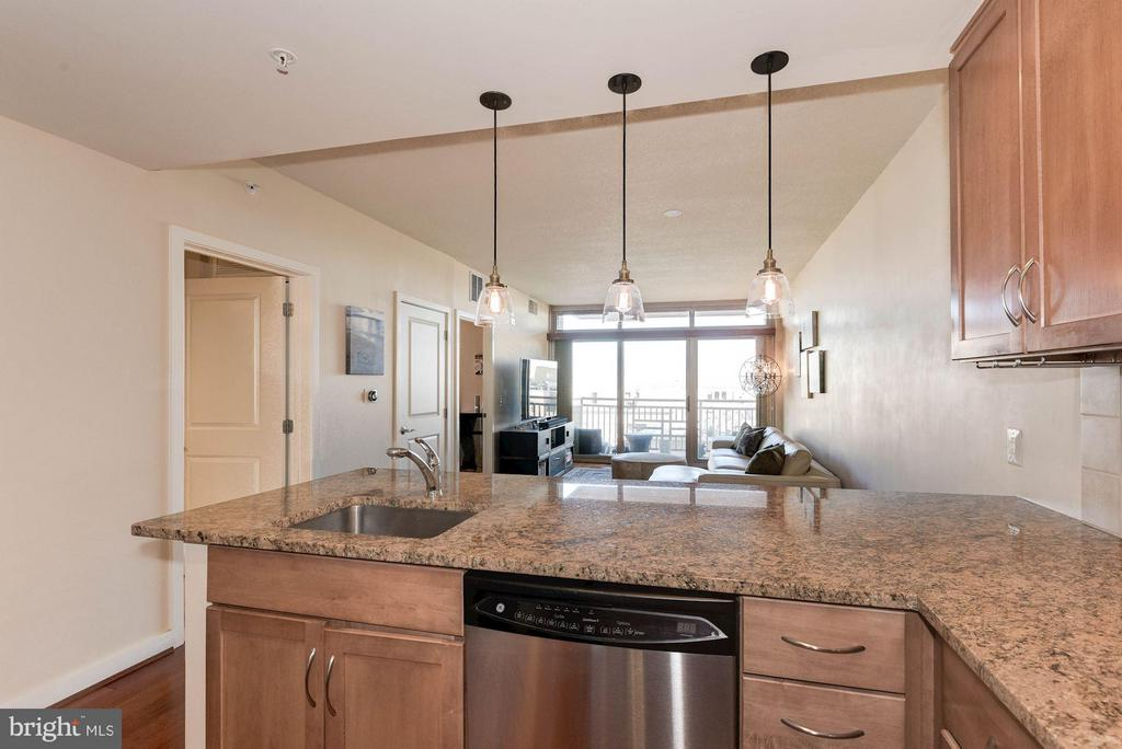 Open floor plan - 888 QUINCY ST #1206, ARLINGTON