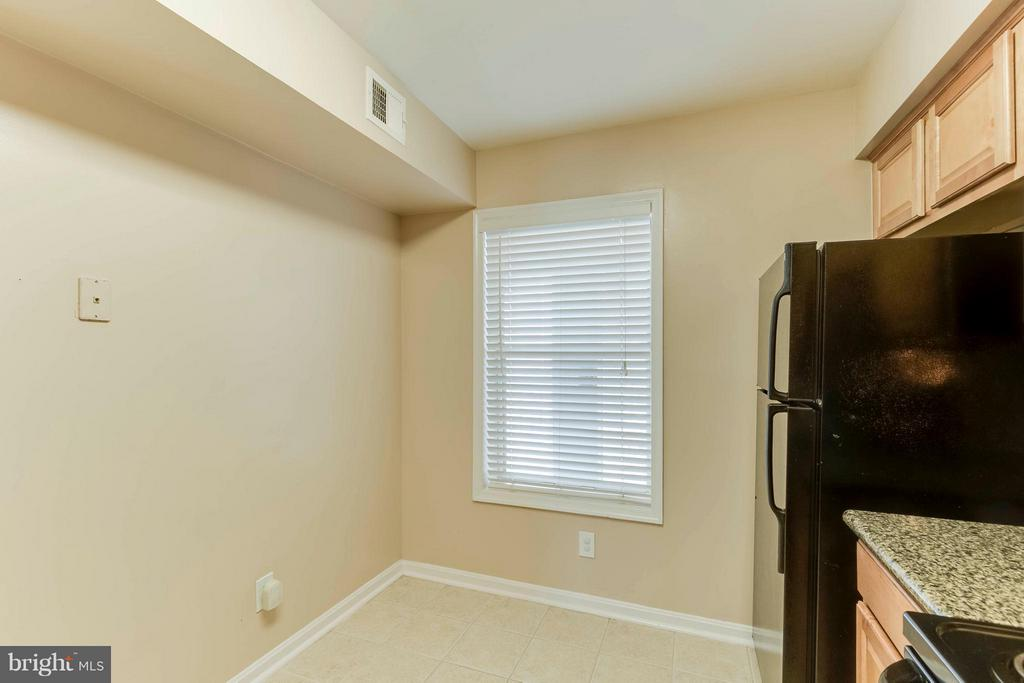 Room to add a bistro table and chairs! - 3179 SUMMIT SQUARE DR #2-D6, OAKTON