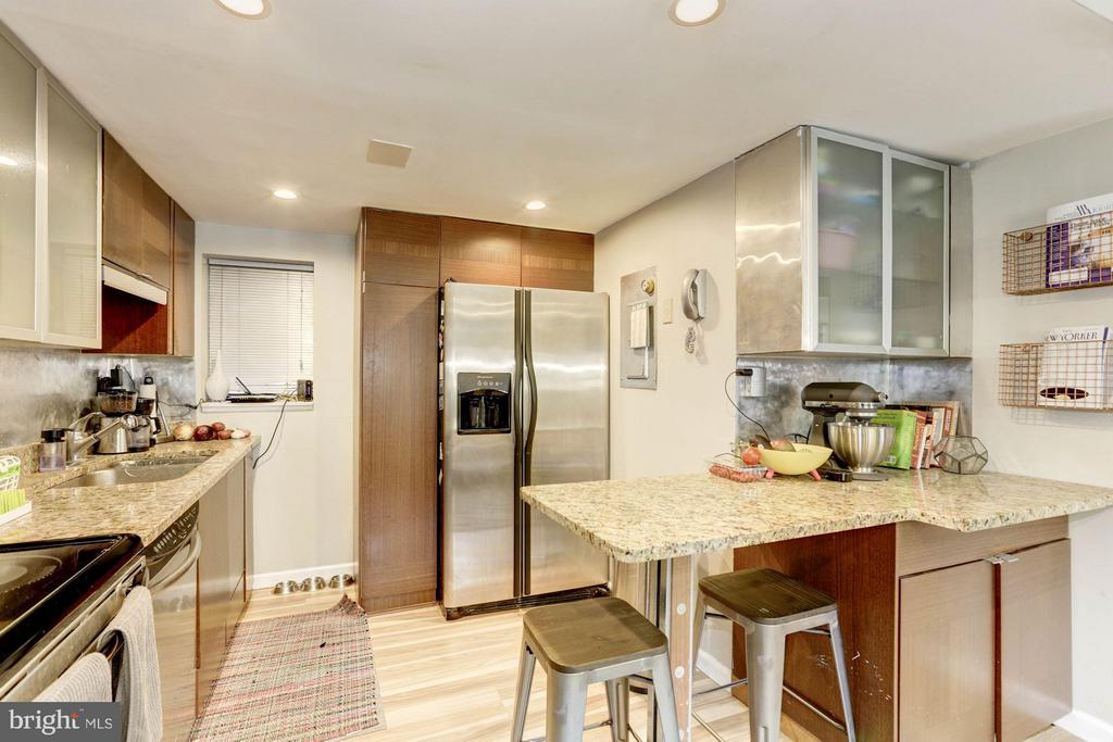 Granite and Stainless w/ Breakfast Bar - 1843 MINTWOOD PL NW #110, WASHINGTON