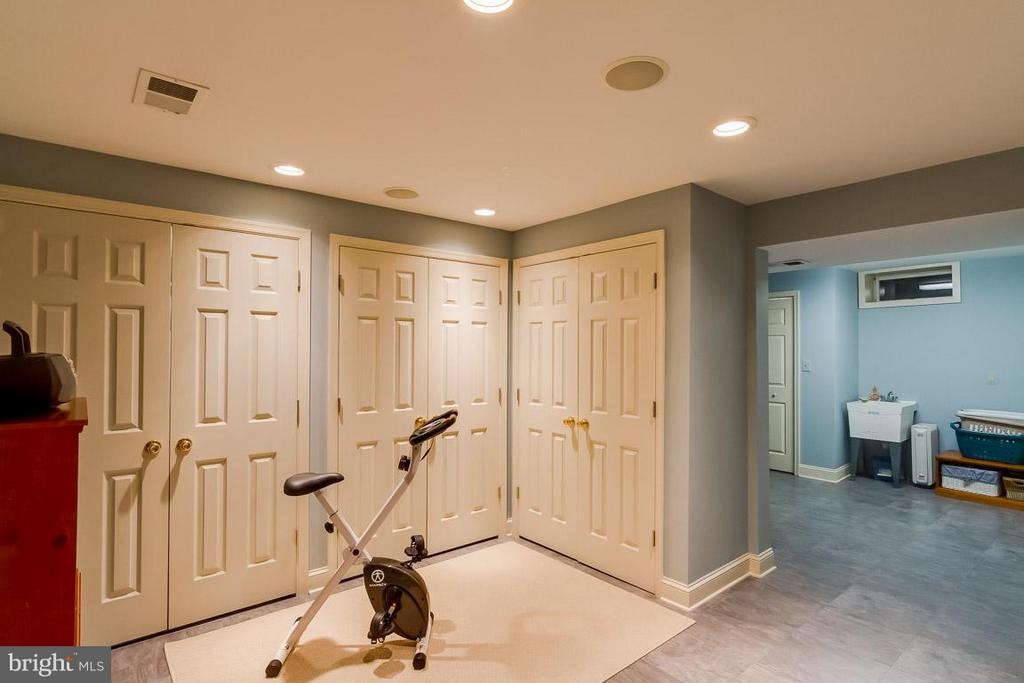 Lower Level Exercise Room/ Den - 12704 THUNDER CHASE DR, RESTON