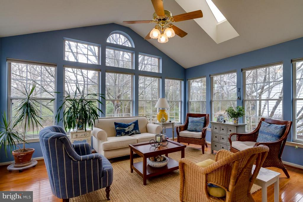 Sunroom off Family Room - 12704 THUNDER CHASE DR, RESTON