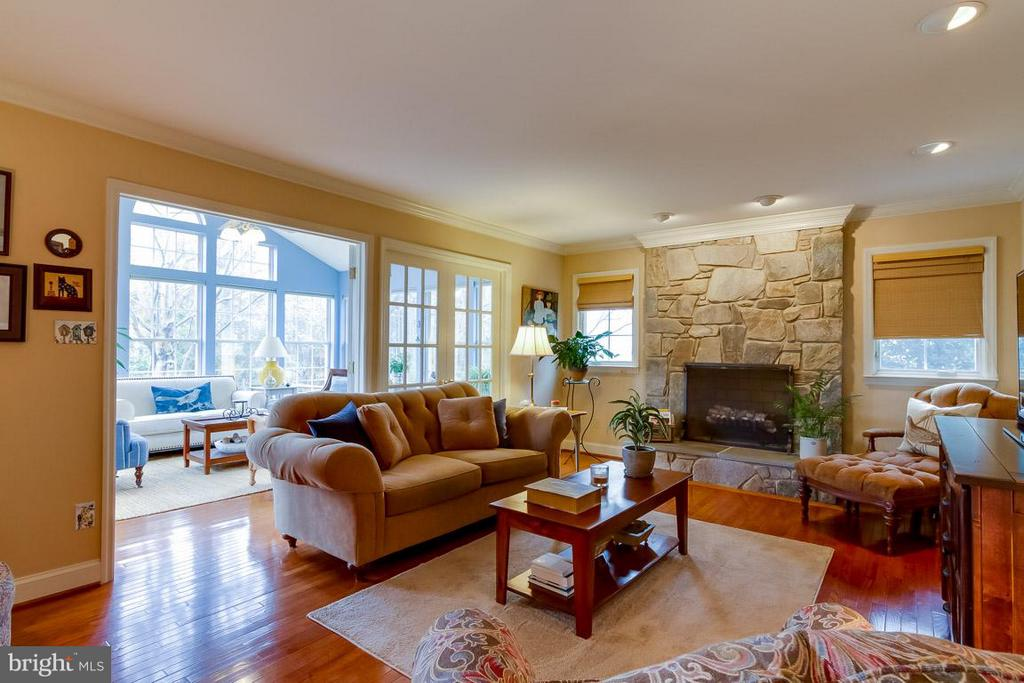 Family Room - 12704 THUNDER CHASE DR, RESTON
