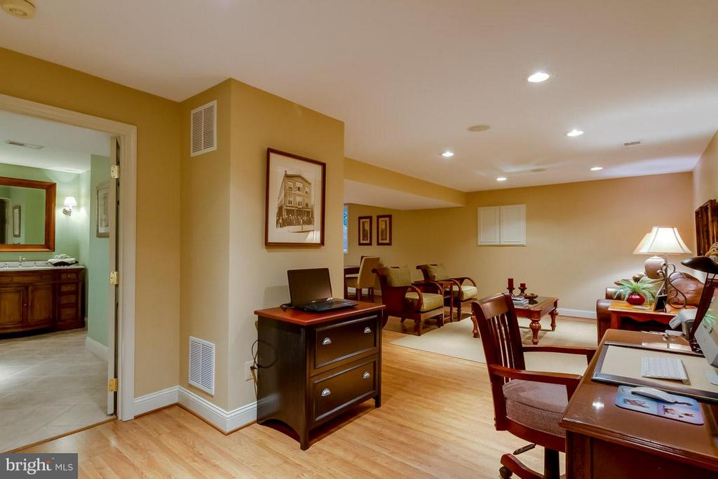 Lower Level Recreation Room - 12704 THUNDER CHASE DR, RESTON