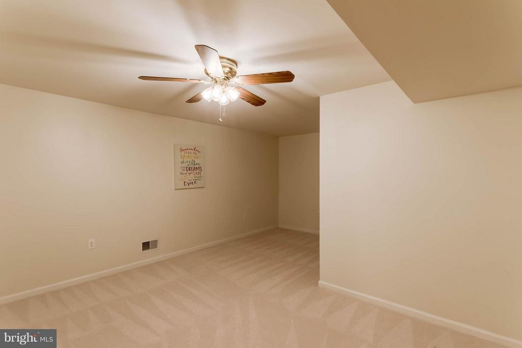 Basement bonus room great for hobbies, media, etc - 8 DAYTON CIR, FREDERICKSBURG