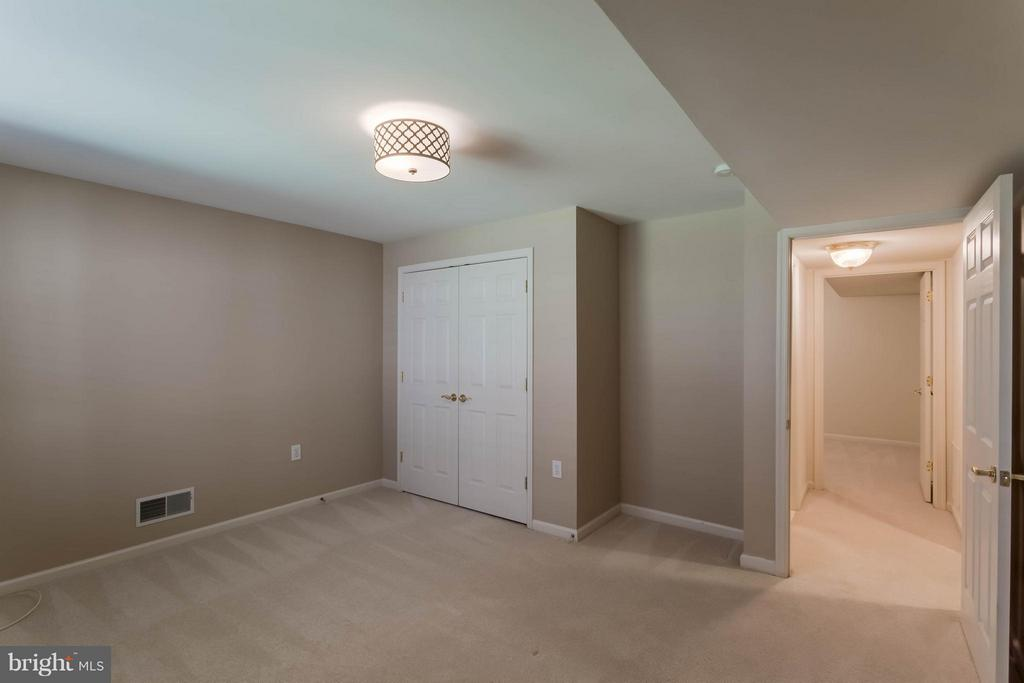 Basement Bedroom with an adjacent full bath - 8 DAYTON CIR, FREDERICKSBURG