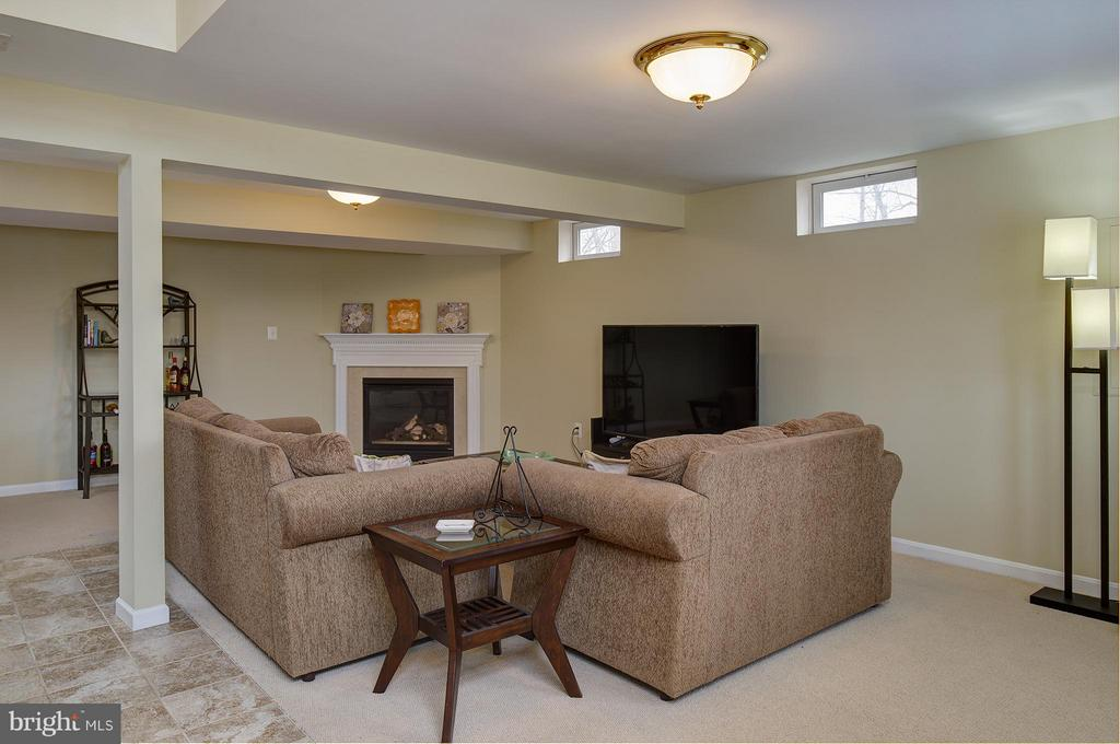 With Cozy Gas Fireplace - 9429 KATELYN CT, MANASSAS PARK