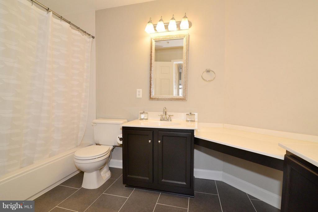 Remodeled master bath - 11406J WINDLEAF CT #9, RESTON