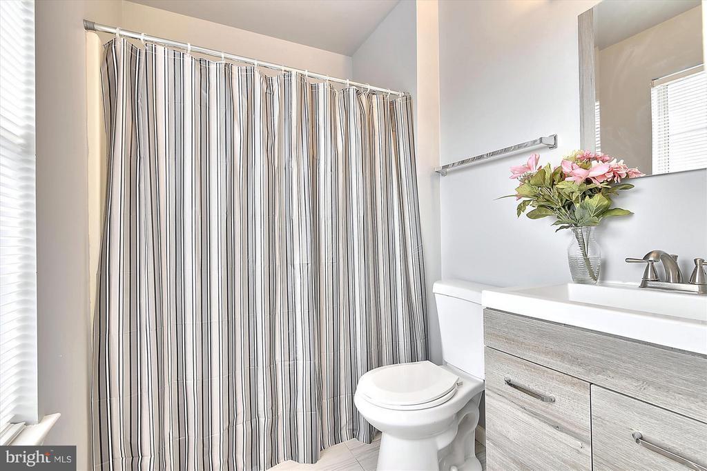 Master Bath #1 - New Vanity, Tile Floor and Lights - 508 COVINGTON TER NE, LEESBURG