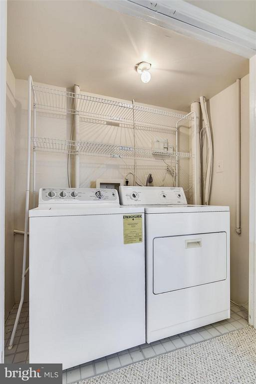 Washer & Dryer Located on the Lower Level - 508 COVINGTON TER NE, LEESBURG