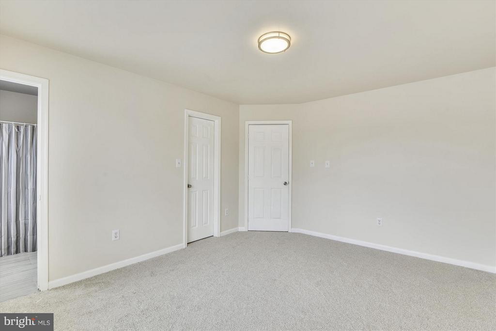 Master Bedroom #1 - New Plush Carpet and Lighting - 508 COVINGTON TER NE, LEESBURG