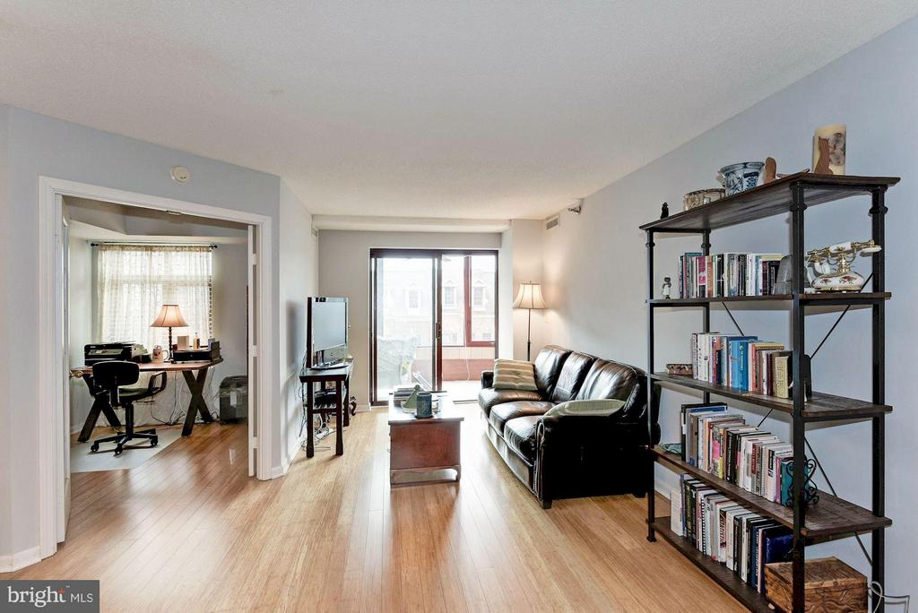 Living room, den AND sunroom - 2400 CLARENDON BLVD #310, ARLINGTON